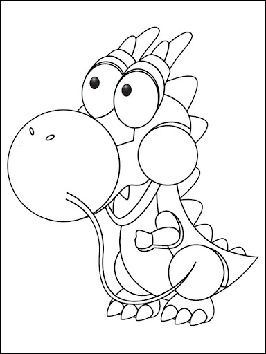 Coloring Book Cartoon For Kids