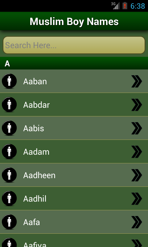 Islamic Baby Names  amp  Meanings   Android Apps on Google Play Google Play