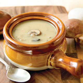 Kosher for Passover Mushroom Velouté Soup