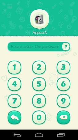 AppLock Theme Green 1.1 screenshot 6254