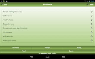 Screenshot of NPDN Citrus Pests