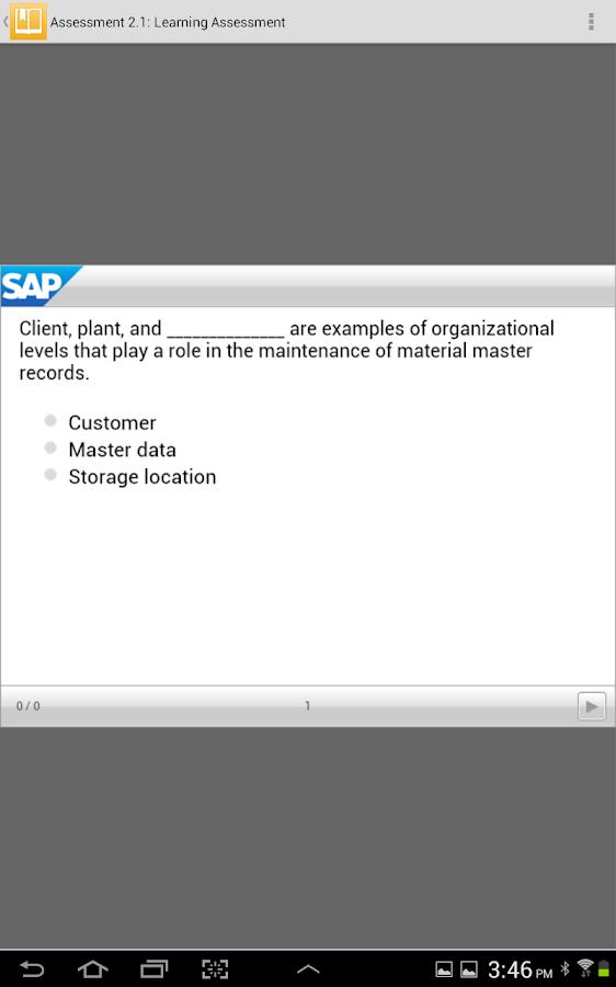 SAP Learn Now - screenshot