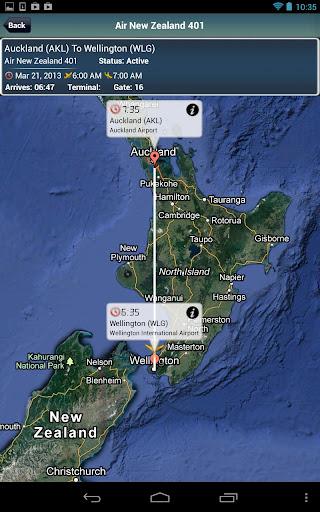 Wellington Airport + Radar WLG