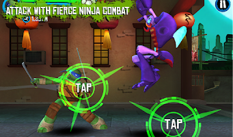 Screenshot of TMNT: ROOFTOP RUN
