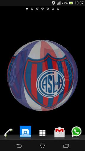 免費下載運動APP|Ball 3D San Lorenzo LWP app開箱文|APP開箱王
