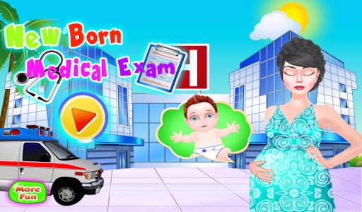 新生婴儿的医生游戏