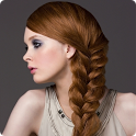 Weaving braids icon