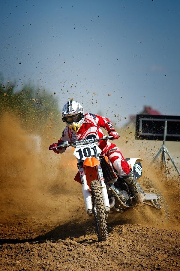 OML Lublin by Grzegorz Makarski - Transportation Motorcycles ( bike, motocross, motorcycle, dirt, helmet, 101, competition )
