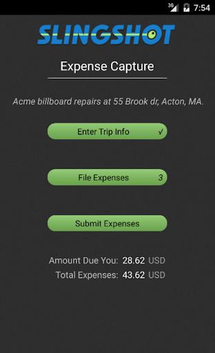 Slingshot Expense Capture