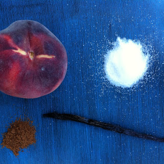 Farmers Market Peach Pie With Nutmeg And Vanilla