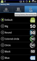 Screenshot of Battery Mix