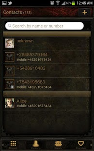 Diablo Dungeon Go Contacts EX - screenshot thumbnail