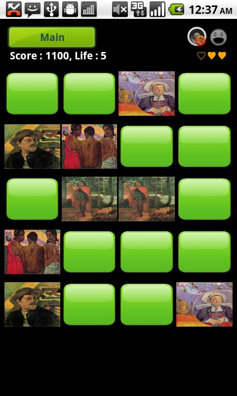 Gauguin Gallery & Puzzle - screenshot