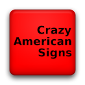 Crazy American Signs logo