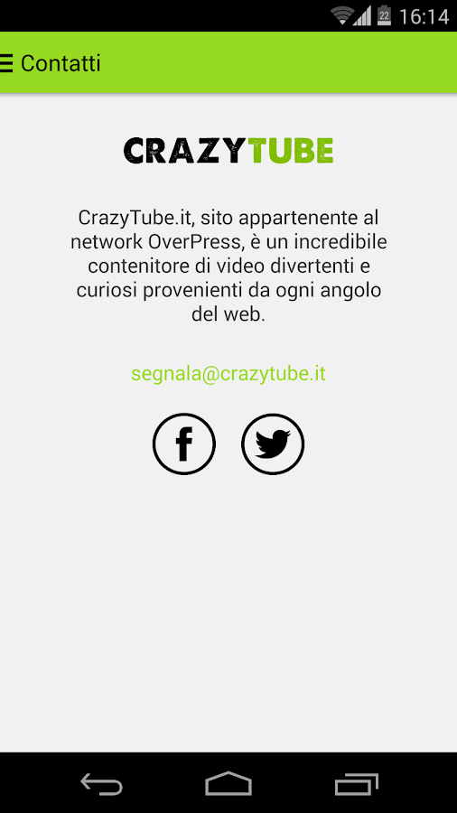 CrazyTube - screenshot