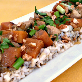 Coconut Curried Chicken with Sweet Potatoes Recipe