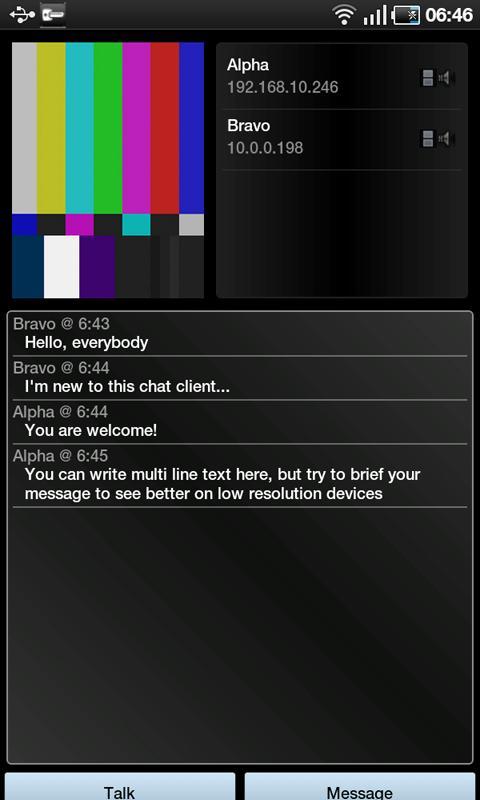 Wichat - screenshot