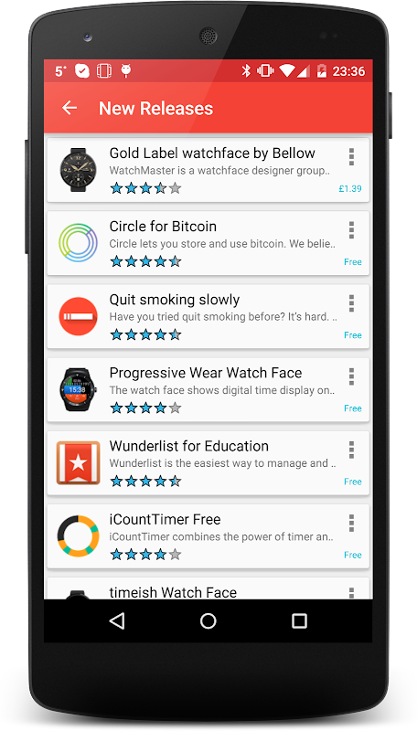 Wear OS Center - Android Wear Apps, Games & News screenshots