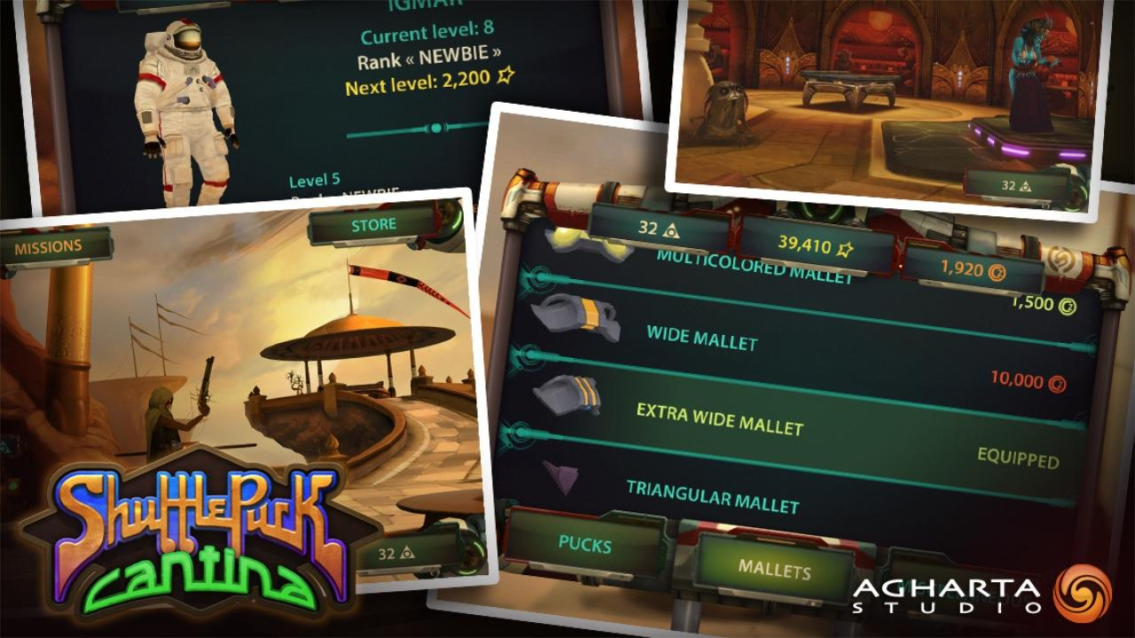 Shufflepuck Cantina - screenshot