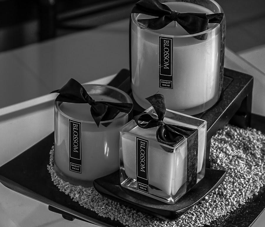 Candles by Khevyn Reimer Knitchel Aguda - Black & White Objects & Still Life (  )
