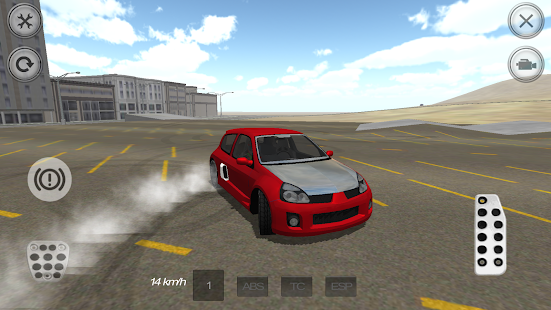 Sport Tuning Car Drift