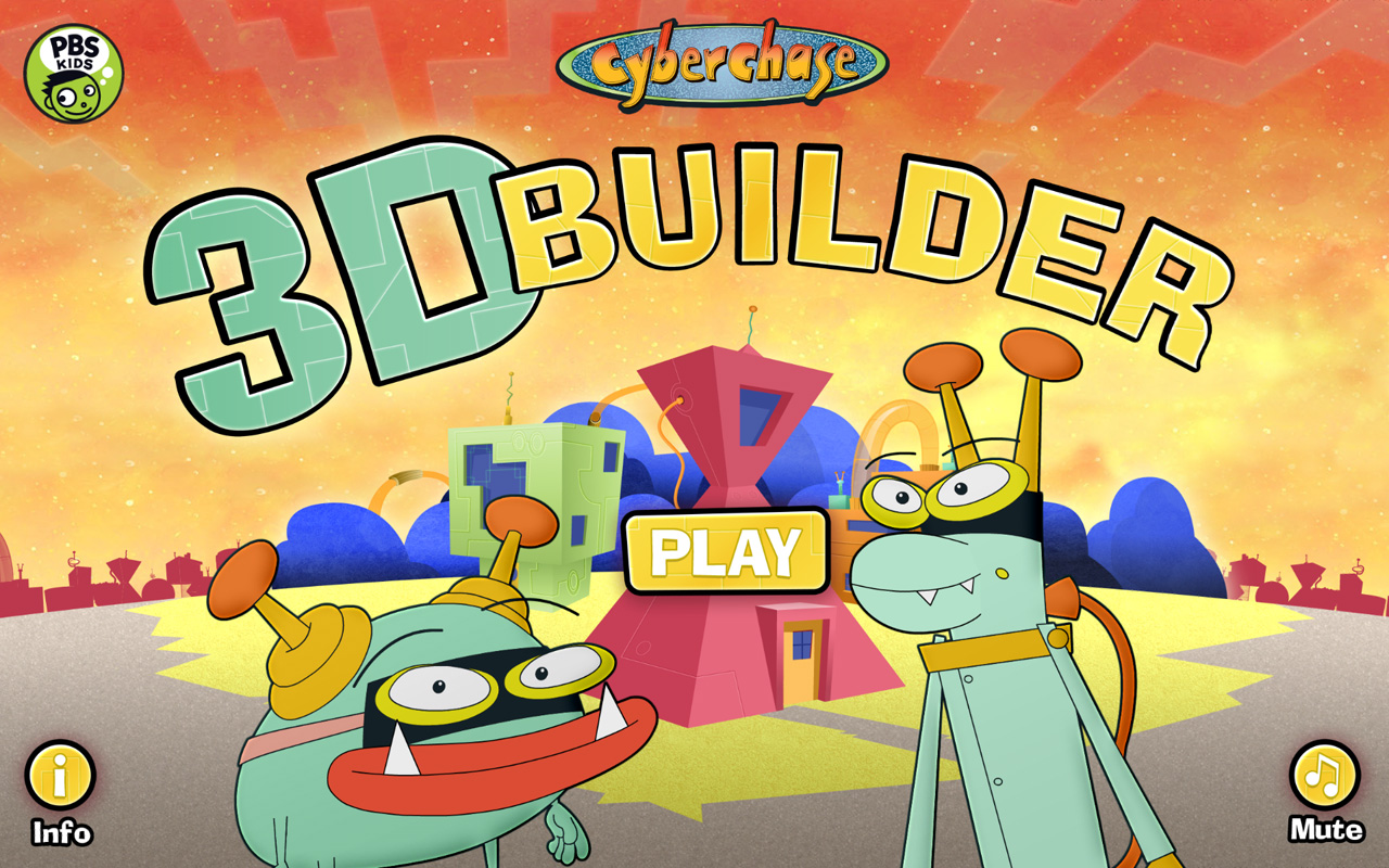 Cyberchase 3D Builder- screenshot