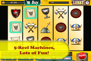 Screenshot of Slots - King Cash of Camelot