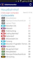 Screenshot of Abfahrtsmonitor lite