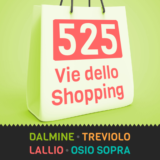 525 Vie dello Shopping LOGO-APP點子