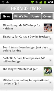 Walkerton Herald-Times - screenshot thumbnail