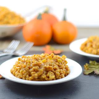 Pumpkin Risotto.