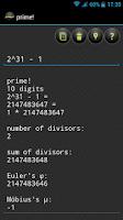 Screenshot of prime!
