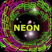Neon Tunnel Live Wallpaper +