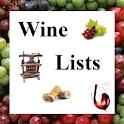 Wine Lists icon