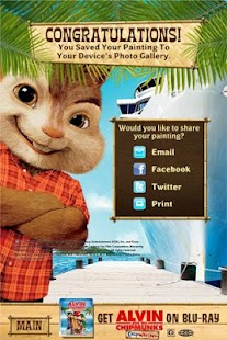 Chipwrecked: Chipmunk Coloring- screenshot thumbnail