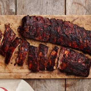 Smoked Baby Back Ribs.