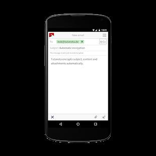 Tutanota: simply secure emails Screenshot 3