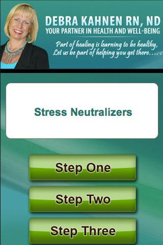 Stress Neutralizers Deb Kahnen