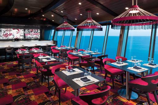 Navigator-of-the-Seas-Izumi - Izumi, on deck 14 of Navigator of the Seas, offers sushi, Asian-fusion cuisine and stunning ocean views.