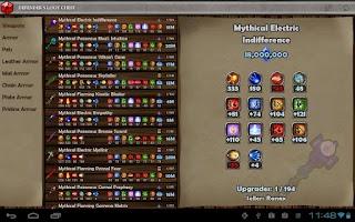 Screenshot of Defender's Armory