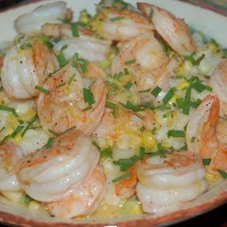 Springtime Shrimp and Grits Recipe