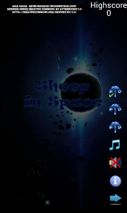 Sheep in Space - screenshot