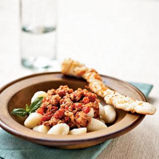 Gnocchi with Turkey Ragù.