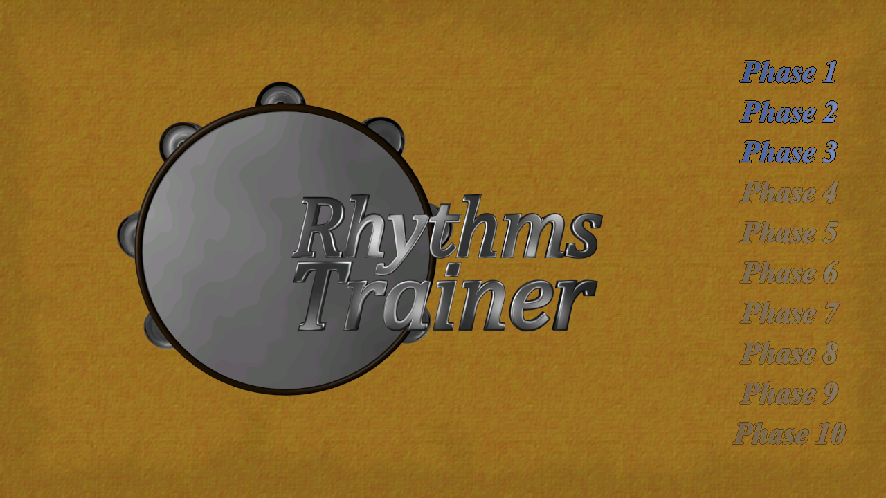 Rhythms Trainer- screenshot
