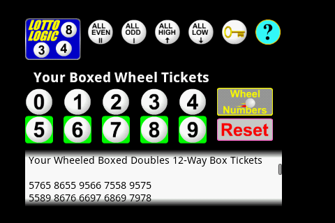 lotto full wheel combinations generator