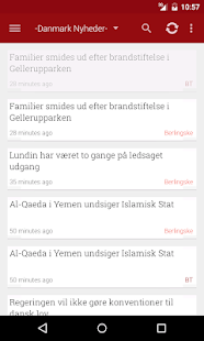 Danmark Nyheder - screenshot thumbnail