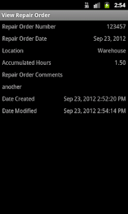 Repair Order Manager - screenshot thumbnail
