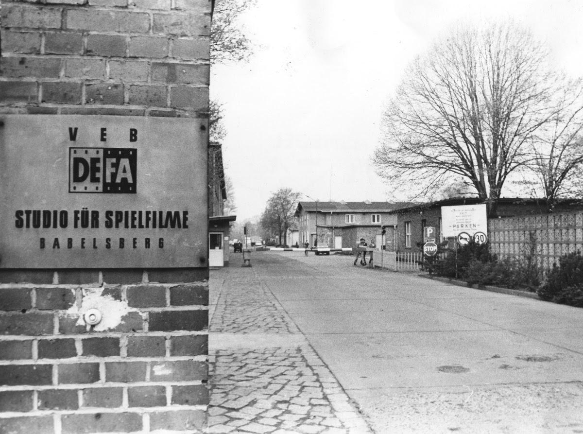 Entrance of the DEFA-fictionfilmstudio - DEFA-Stiftung — Google Arts &  Culture