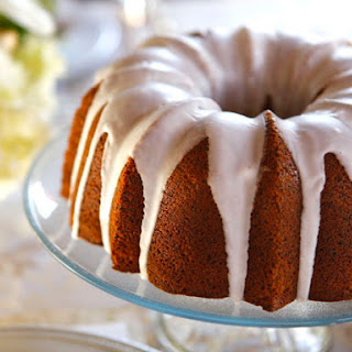 Lemon Poppy Seed Cake with Lemon Glaze