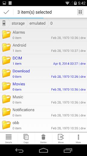 CM FILE MANAGER HD 3.5.0 screenshots 4